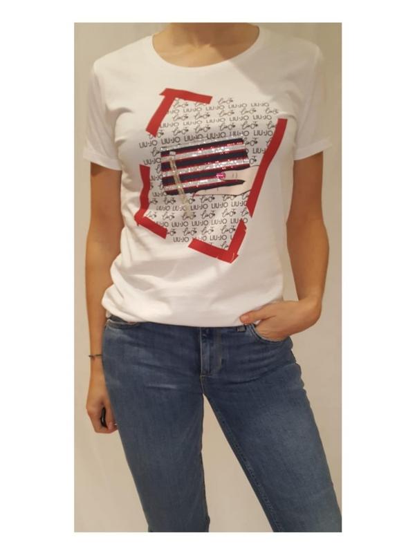 Camiseta LIU JO  WA1495J5003T